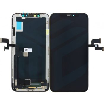 Apple iPhone X Display + Touchscreen (Soft Oled) - Black - LCD