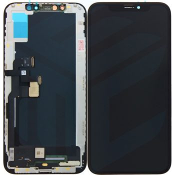 Apple iPhone XS Display + Touchscreen (Soft OLED) High Quality- Black - LCD