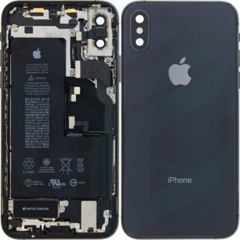 iPhone XS Middle Frame OEM Pulled (A) Complete With Parts & Battery - White