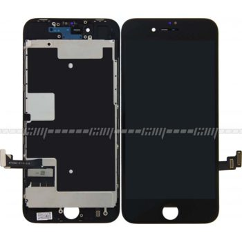 iPhone 8 Display + Touchscreen+Metal Plate A+ High Quality Schwarz