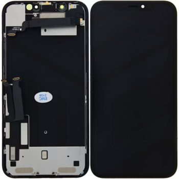 EMC-iPhone XR Display incl Touchscreen full OEM- Schwaz